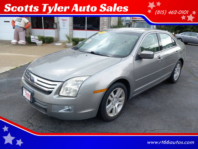 2008 Ford Fusion for sale at Scotts Tyler Auto Sales in Wilmington IL