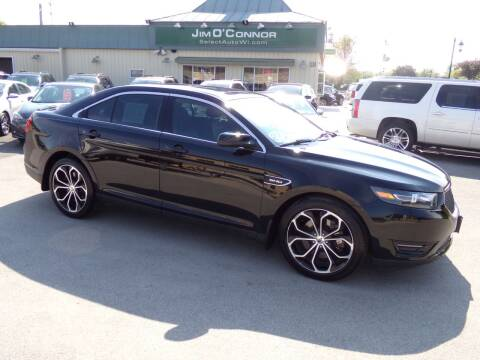 2016 Ford Taurus for sale at Jim O'Connor Select Auto in Oconomowoc WI