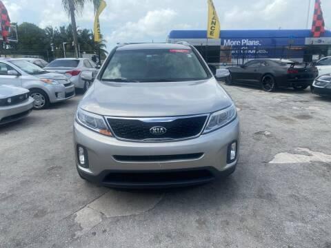 2015 Kia Sorento for sale at America Auto Wholesale Inc in Miami FL
