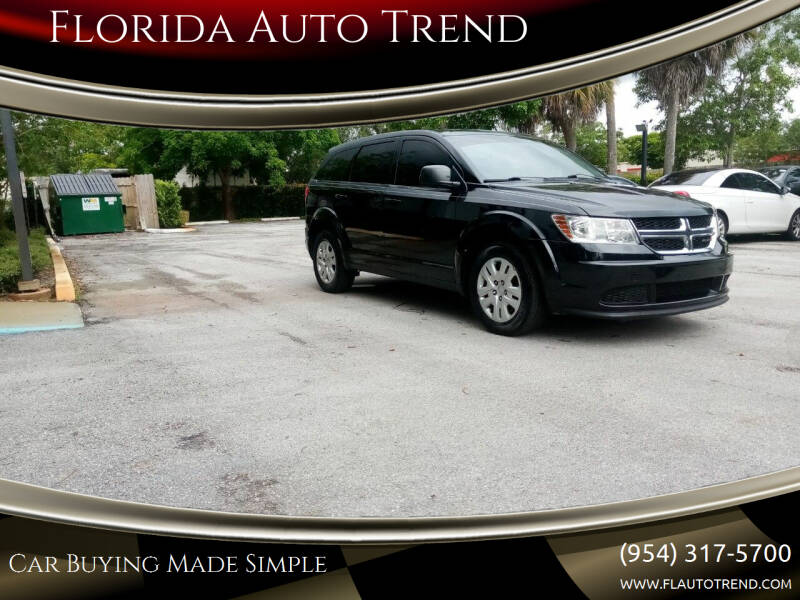 2015 Dodge Journey for sale at Florida Auto Trend in Plantation FL