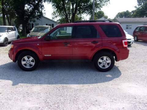 2008 Ford Escape for sale at VANDALIA AUTO SALES in Vandalia MO