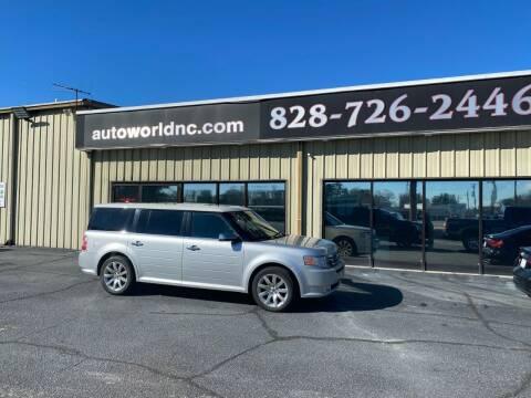 2010 Ford Flex for sale at AutoWorld of Lenoir in Lenoir NC