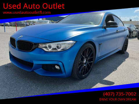 2016 BMW 4 Series for sale at Used Auto Outlet in Orlando FL