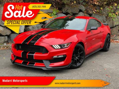 2018 Ford Mustang for sale at Mudarri Motorsports in Kirkland WA