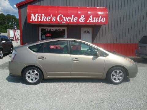 2006 Toyota Prius for sale at MIKE'S CYCLE & AUTO in Connersville IN
