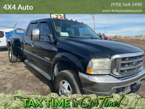 2004 Ford F-350 Super Duty for sale at 4X4 Auto in Cortez CO