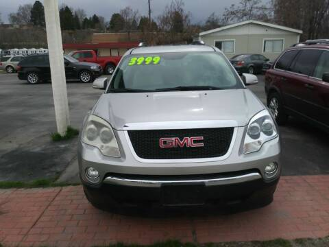 2008 GMC Acadia for sale at Marvelous Motors in Garden City ID
