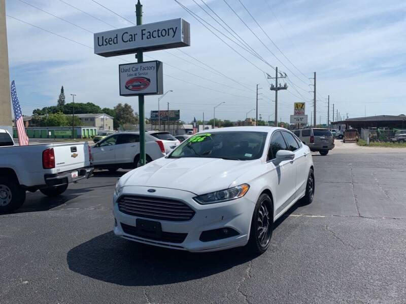 2014 Ford Fusion for sale at Used Car Factory Sales & Service in Bradenton FL