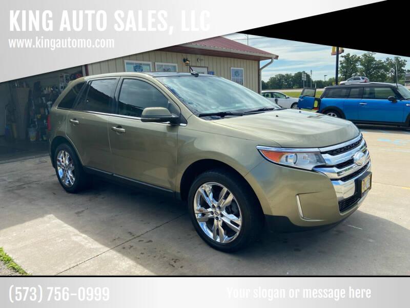 2012 Ford Edge for sale at KING AUTO SALES, LLC in Farmington MO