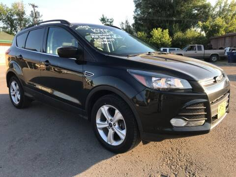 2014 Ford Escape for sale at Central City Auto West in Lewistown MT