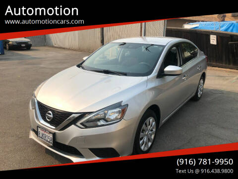 2017 Nissan Sentra for sale at Automotion in Roseville CA