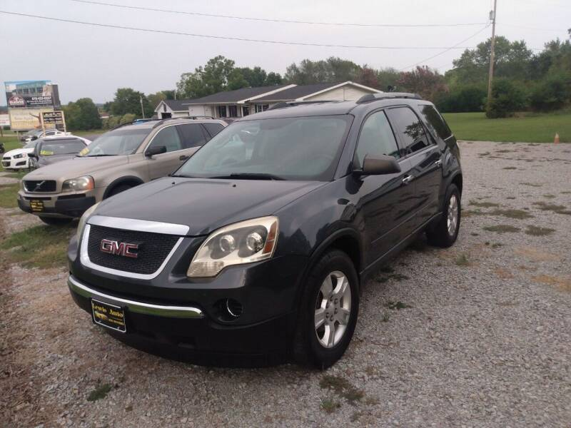 2011 GMC Acadia for sale at LEWIS AUTO in Mountain Home AR