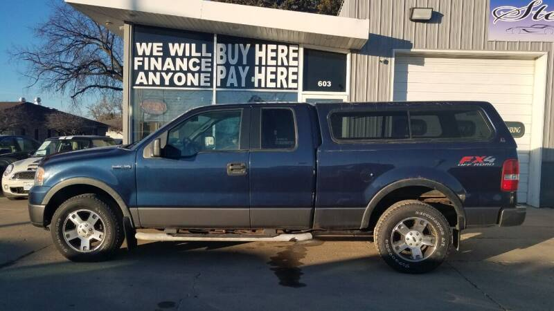 2006 Ford F-150 for sale at STERLING MOTORS in Watertown SD