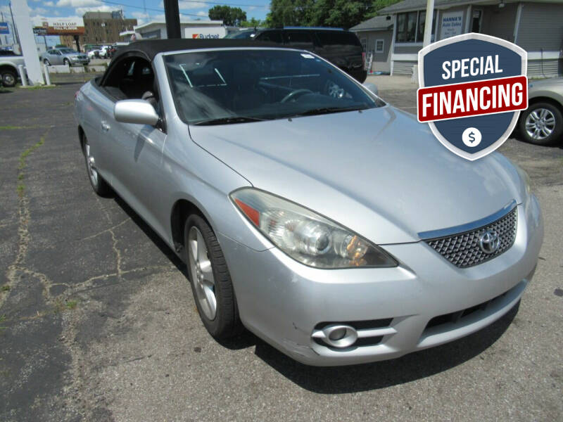 2008 Toyota Camry Solara for sale at Hanna's Auto Sales in Indianapolis IN