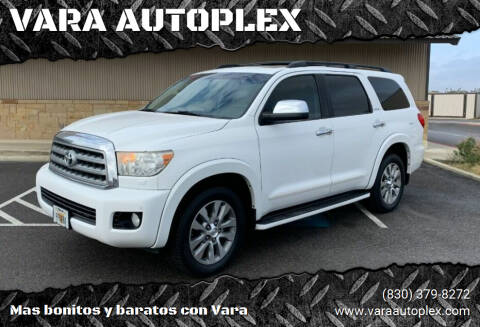 2011 Toyota Sequoia for sale at VARA AUTOPLEX in Seguin TX