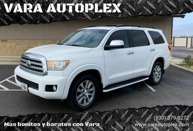 2011 Toyota Sequoia for sale at VARA AUTOPLEX in Seguin TX