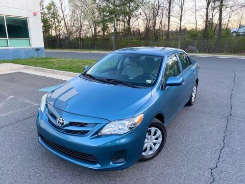 2013 Toyota Corolla for sale at Super Bee Auto in Chantilly VA