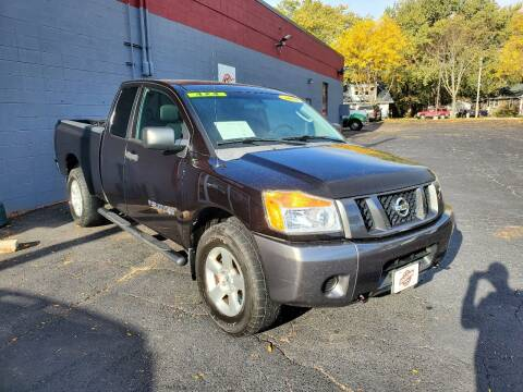 2008 Nissan Titan for sale at Stach Auto in Janesville WI