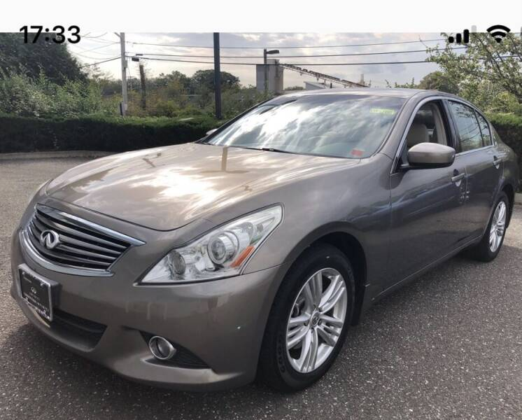 2010 Infiniti G37 Sedan for sale at Primary Motors Inc in Commack NY