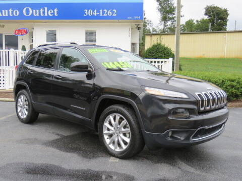 2016 Jeep Cherokee for sale at Colbert's Auto Outlet in Hickory NC