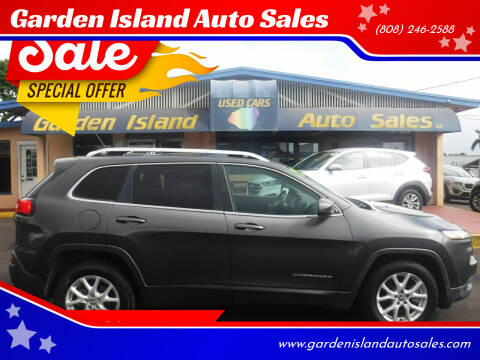 2015 Jeep Cherokee for sale at Garden Island Auto Sales in Lihue HI
