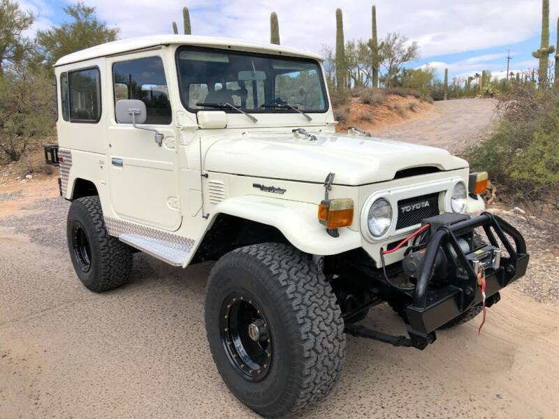 1977 Toyota Land Cruiser for sale at Auto Executives in Tucson AZ