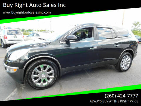 2012 Buick Enclave for sale at Buy Right Auto Sales Inc in Fort Wayne IN