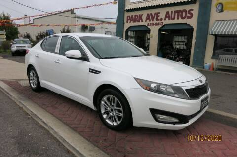 2012 Kia Optima for sale at PARK AVENUE AUTOS in Collingswood NJ