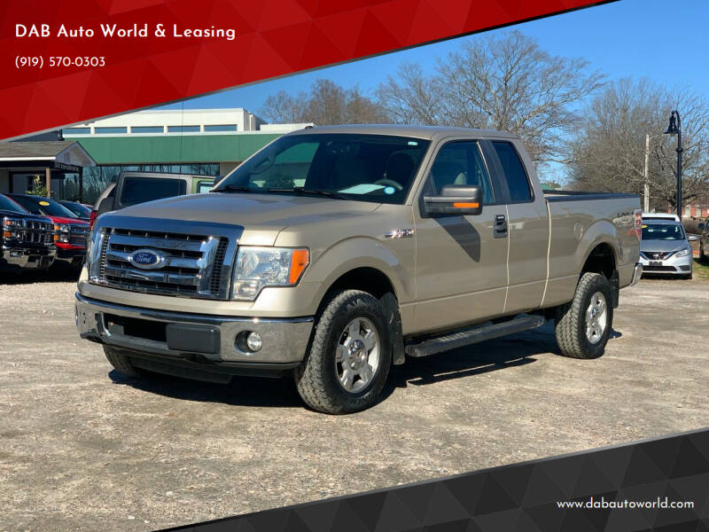 2010 Ford F-150 for sale at DAB Auto World & Leasing in Wake Forest NC