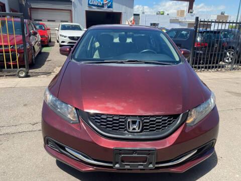 2014 Honda Civic for sale at Sanaa Auto Sales LLC in Denver CO