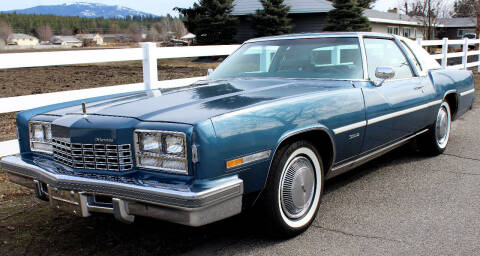 1977 Oldsmobile Toronado FWD 6.6L V8 for sale at J.K. Thomas Motor Cars in Spokane Valley WA