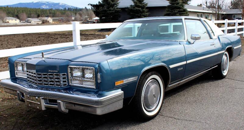 1977 Oldsmobile Toronado FWD 6.7L V8 for sale at J.K. Thomas Motor Cars in Spokane Valley WA
