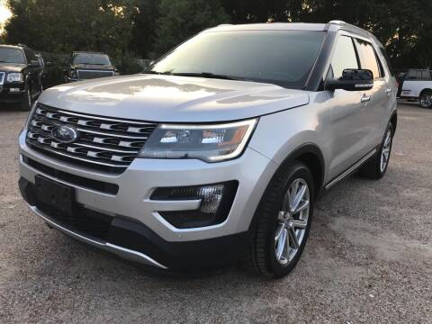 2016 Ford Explorer for sale at Texas Luxury Auto in Houston TX