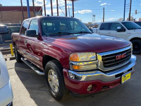2005 GMC Sierra 1500 for sale at New Wave Auto Brokers & Sales in Denver CO