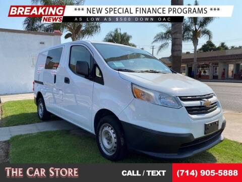 2016 Chevrolet City Express Cargo for sale at The Car Store in Santa Ana CA