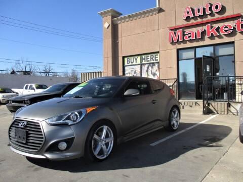 2014 Hyundai Veloster for sale at Auto Market in Oklahoma City OK