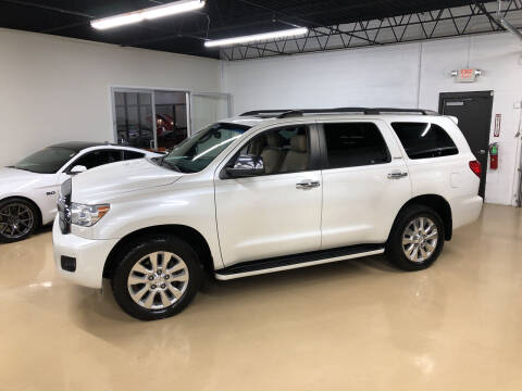 2012 Toyota Sequoia for sale at Fox Valley Motorworks in Lake In The Hills IL