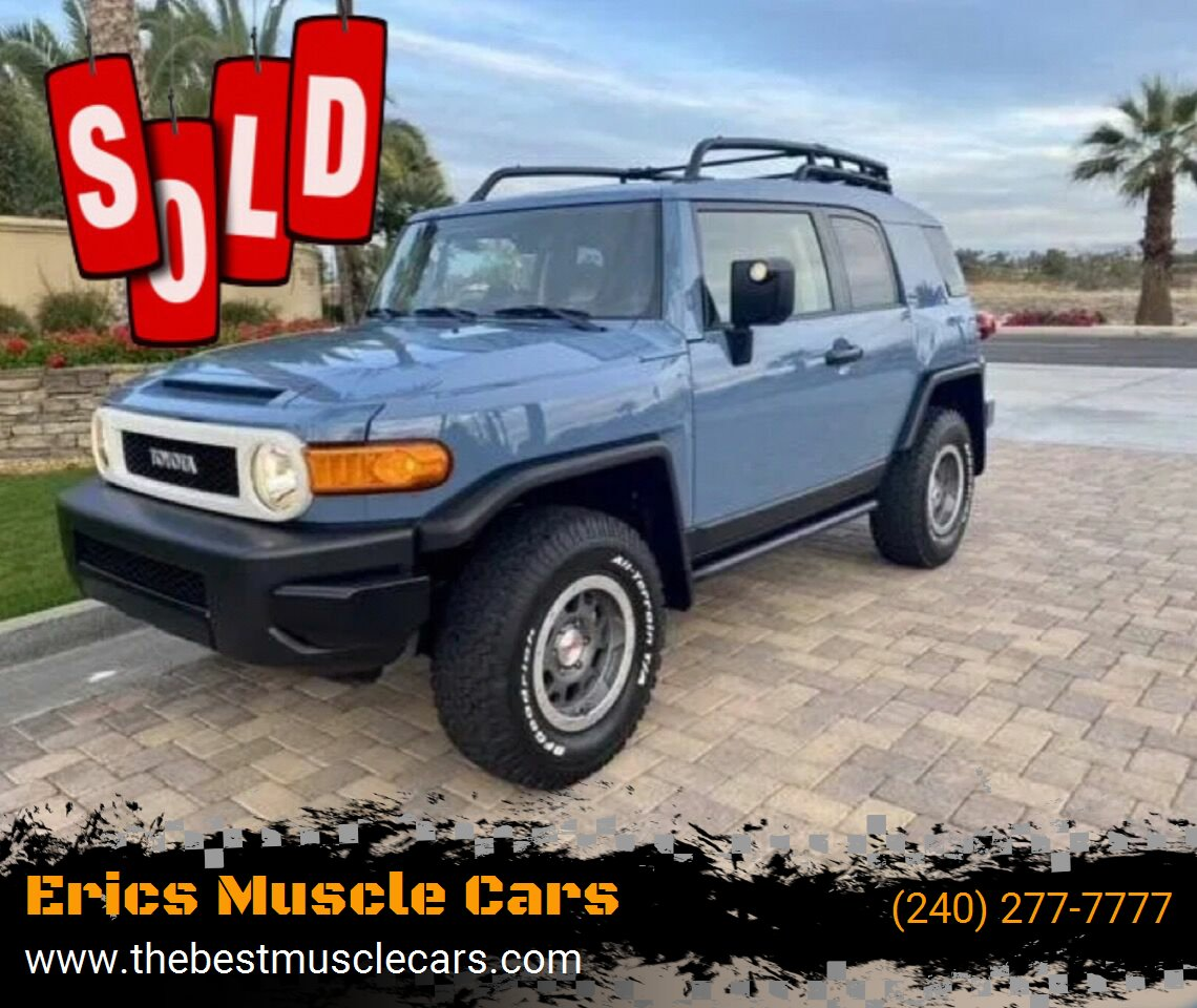 2014 Toyota FJ Cruiser SOLD SOLD SOLD