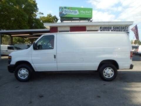 2012 Ford E-Series Cargo for sale at Florida Suncoast Auto Brokers in Palm Harbor FL