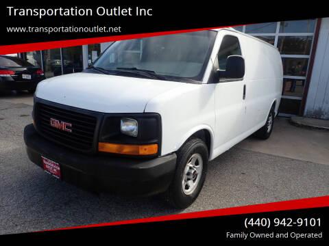 2005 GMC Savana Cargo for sale at Transportation Outlet Inc in Eastlake OH