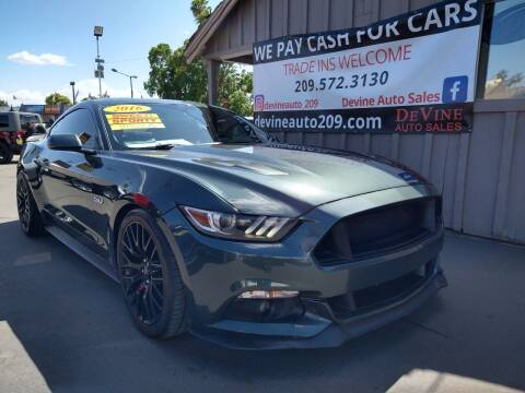 2016 Ford Mustang for sale at Devine Auto Sales in Modesto CA