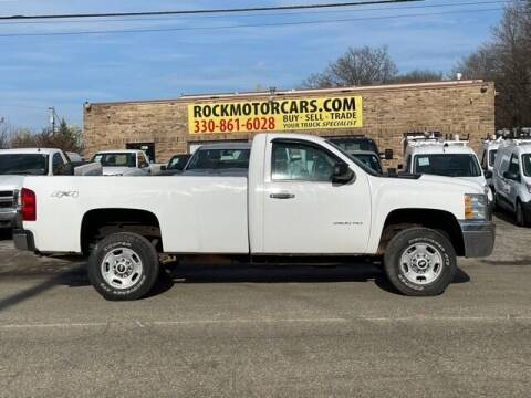 2013 Chevrolet Silverado 2500HD for sale at ROCK MOTORCARS LLC in Boston Heights OH