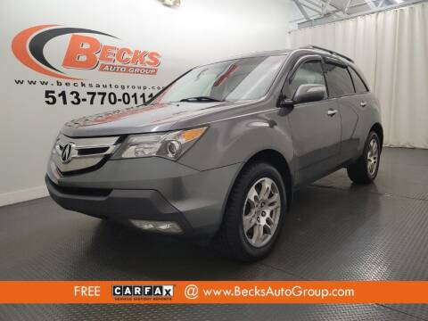 2009 Acura MDX for sale at Becks Auto Group in Mason OH
