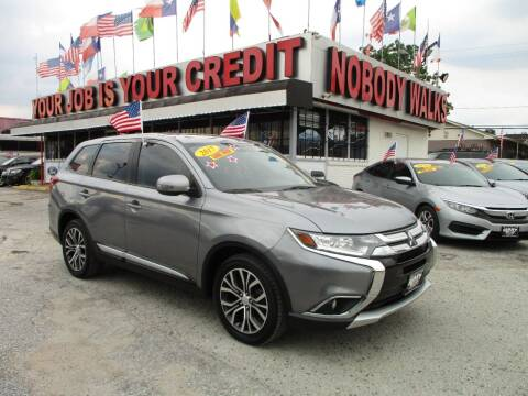 2017 Mitsubishi Outlander for sale at Giant Auto Mart 2 in Houston TX