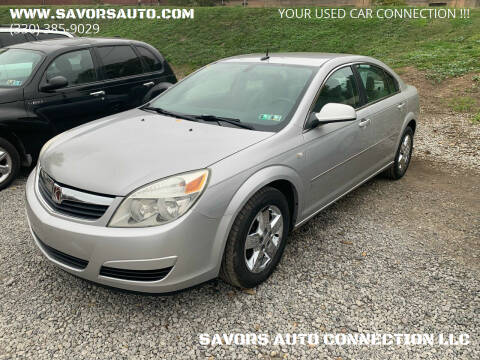 2007 Saturn Aura for sale at SAVORS AUTO CONNECTION LLC in East Liverpool OH