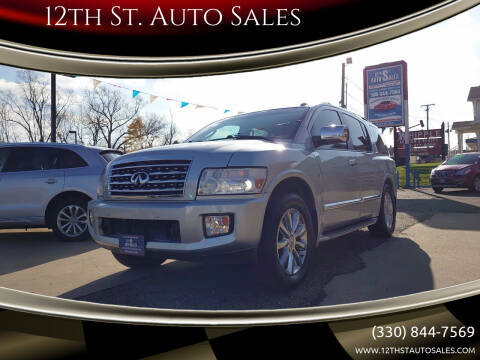 2010 Infiniti QX56 for sale at 12th St. Auto Sales in Canton OH