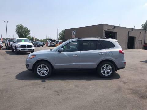2010 Hyundai Santa Fe for sale at Crown Motor Inc in Grand Forks ND