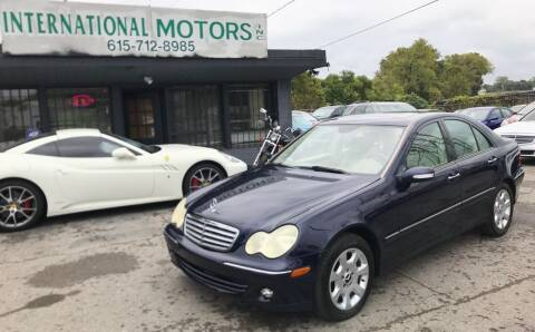2006 Mercedes-Benz C-Class for sale at International Motors Inc. in Nashville TN