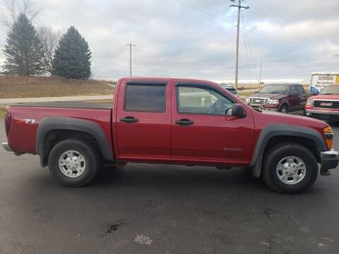 2005 Chevrolet Colorado for sale at Tumbleson Automotive in Kewanee IL