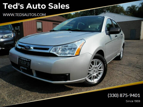 2010 Ford Focus for sale at Ted's Auto Sales in Louisville OH
